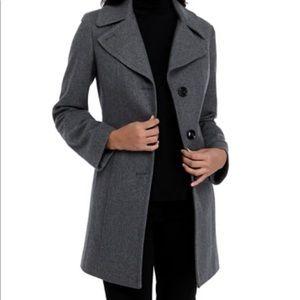 Anne Klein wool coat S NWT